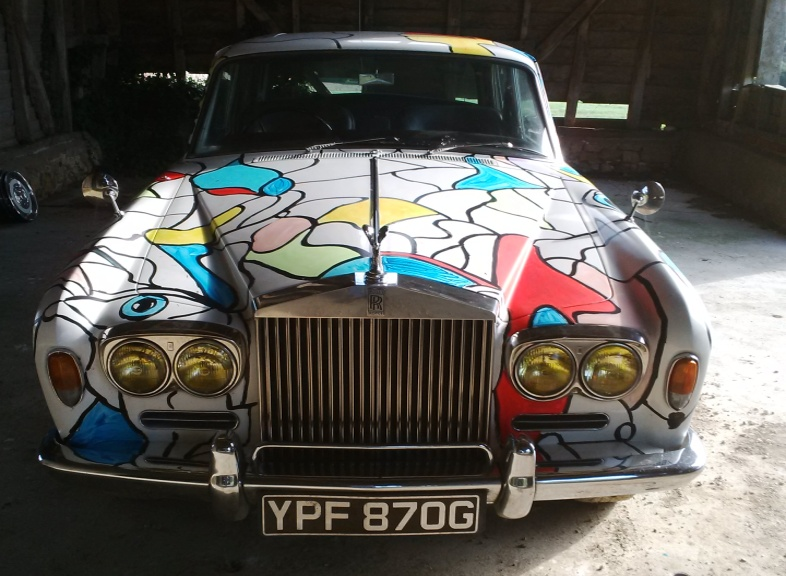 Rolls-Royce Art Car from the Wight Rolls-Royce  and Bentley Car Company