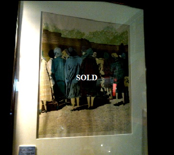 "Limited edition Print 'That obscure object of desire' Katie Clements 18*18"" Framed. Offered by Roy Burrows. £85"