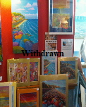 Original art, prints and cards by Jane and Lucy Daniels. On display Bembridge Shop