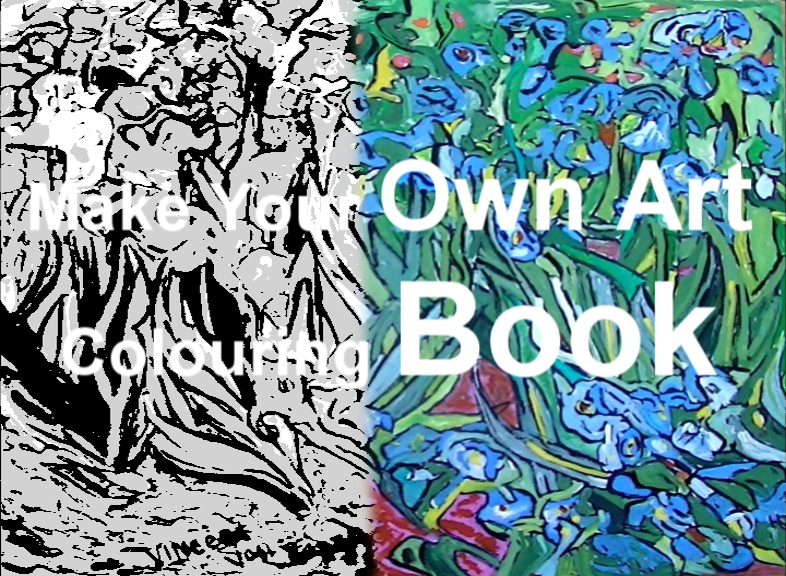 'Coloring (colouring) books for Adults' 12 paintings per book various themes. Use your own crayons, pastels, fibre tipped pens, ink, watercolour, acrylic or oil paints. �5 per book plus �2.50 postage and packing. E mail us your requirements