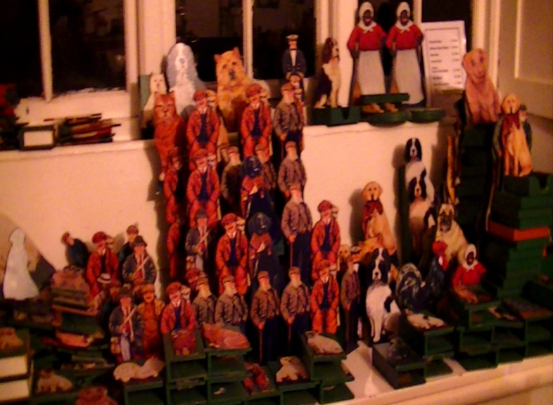 Selection of figures. By Lois May From £1 each. On display ClayClay shop.