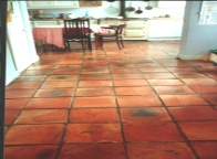 York Terracotta floor tiles
